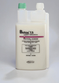 BUTOX 7.5% POUR ON